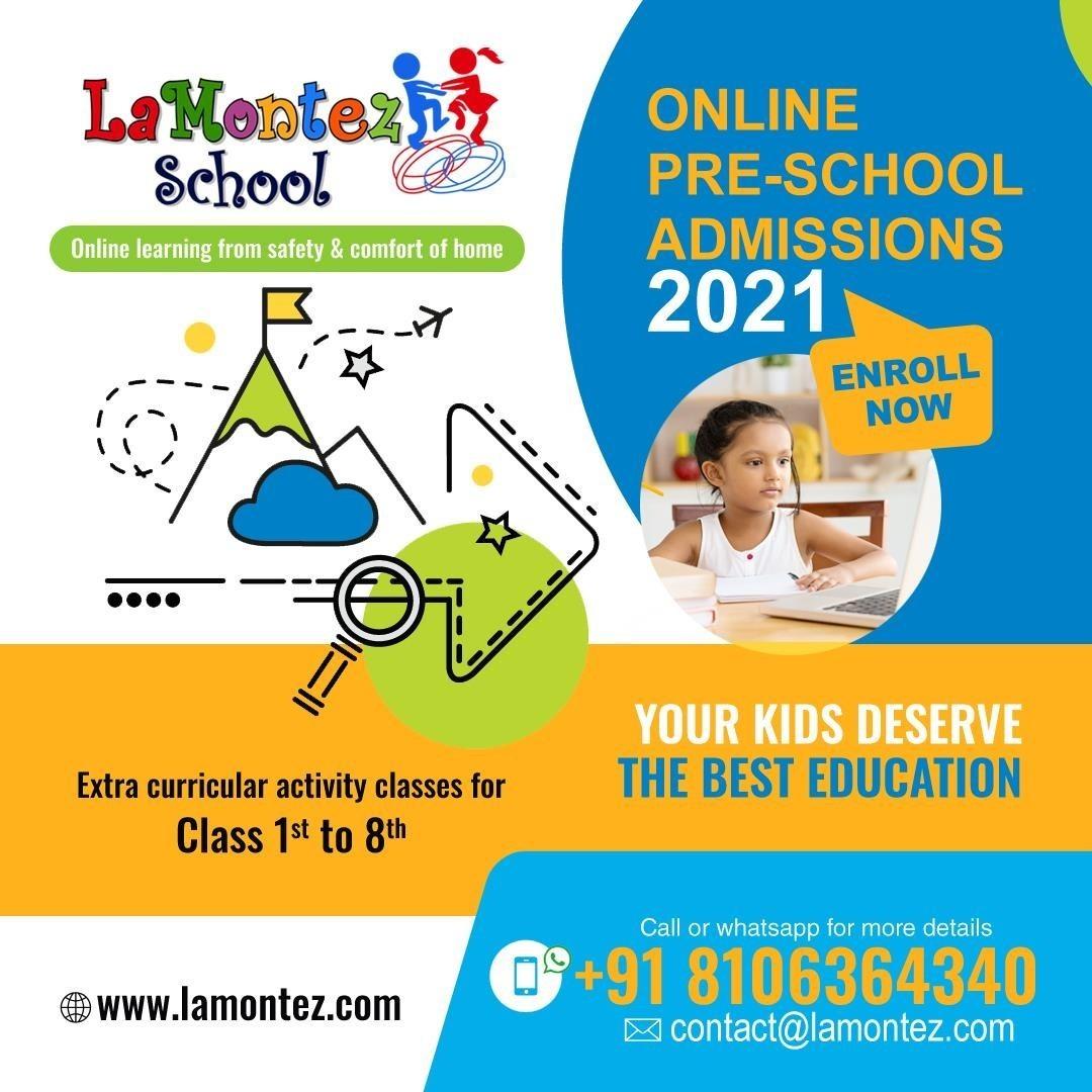 LaMontez Preschool Online Learning